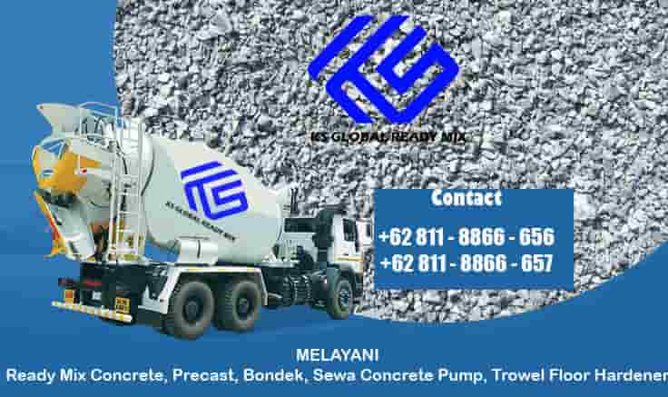 harga beton cor ready mix cipayung