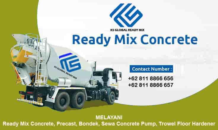 harga beton cor ready mix tapos