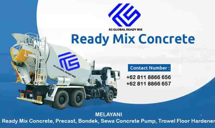 harga beton cor ready mix bojongsari