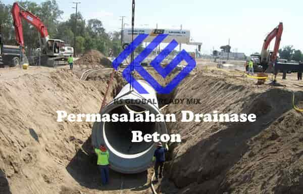 permasalahan drainase dalam konstruksi beton