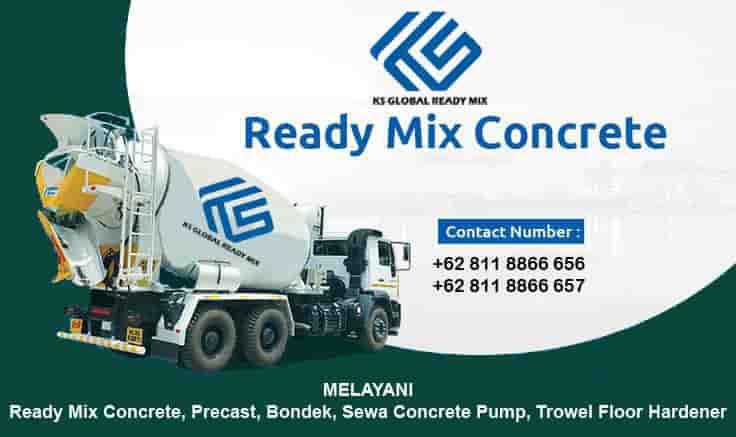 harga beton cor ready mix tanah sareal