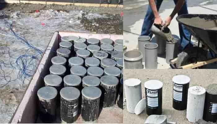 cara pengujian beton